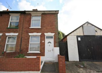 Thumbnail 2 bed end terrace house to rent in Rendlesham Road, Ipswich, Suffolk