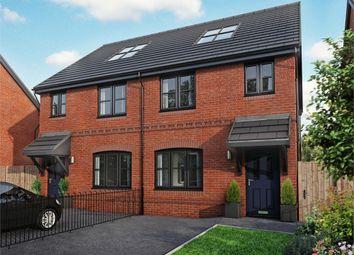 Thumbnail 4 bedroom semi-detached house for sale in Warburton Hey, Rainhill, Prescot, Merseyside