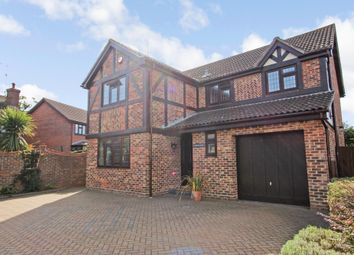 Thumbnail 4 bed detached house for sale in Spencers, Hockley, Essex