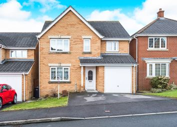 Thumbnail 4 bed detached house for sale in Crymlyn Parc, Skewen, Neath