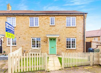 Thumbnail 3 bedroom end terrace house for sale in Barrow Lane, Lower Cambourne, Cambridge