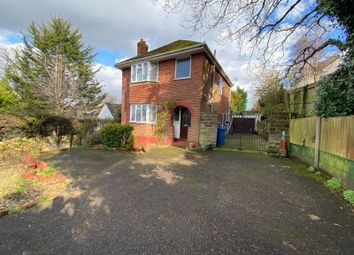 Thumbnail 3 bed detached house for sale in Alder Road, Parkstone, Poole, Dorset