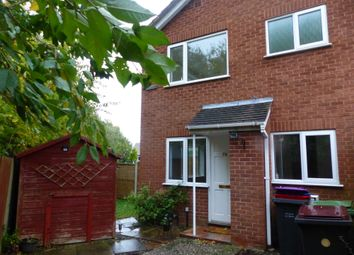 Thumbnail 1 bed end terrace house to rent in Mercia Drive, Leegomery, Telford