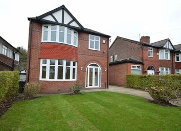 Thumbnail 4 bed detached house to rent in Park Road, Prestwich, Manchester