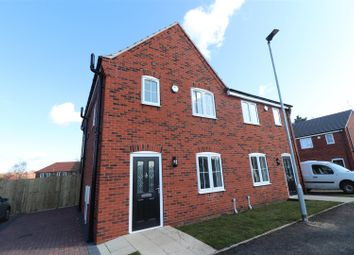 Thumbnail 3 bedroom semi-detached house for sale in Creswell Road, Clowne, Chesterfield