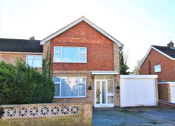 Thumbnail 3 bed semi-detached house for sale in Waldron Drive, Oadby, Leicester