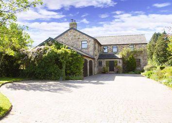 Thumbnail 4 bed detached house for sale in Hollowforth Lane, Woodplumpton, Preston