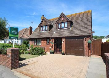Thumbnail 3 bed detached house for sale in Brighton Road, Lancing, West Sussex