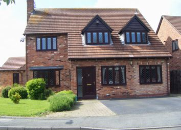 Thumbnail 5 bed detached house for sale in St. Columba Way, Syston, Leicester