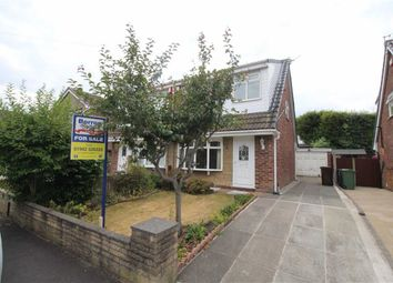 Thumbnail 3 bed semi-detached bungalow for sale in Wainfleet Close, Winstanley, Wigan
