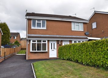 Thumbnail 2 bed semi-detached house to rent in Woodingdean Close, Longton, Stoke-On-Trent