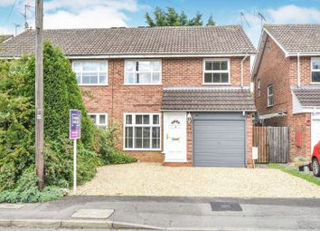 Thumbnail 3 bedroom semi-detached house for sale in Dunbar Drive, Woodley, Reading