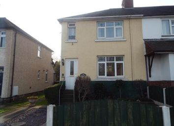 Thumbnail 3 bed semi-detached house for sale in Moss Street, Cannock, Staffordshire