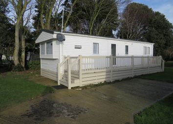 Thumbnail 2 bedroom mobile/park home for sale in Broadlands Caravan Park, Corton, Lowestoft
