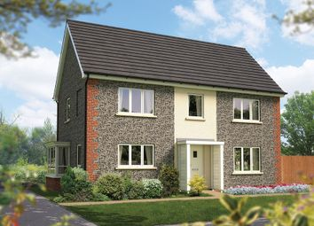 "Thumbnail 4 bed detached house for sale in ""The Montpellier"" at Amesbury Road, Longhedge, Salisbury"