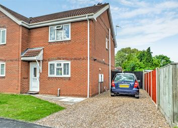 Thumbnail 2 bed semi-detached house for sale in Meadowbrook, Ruskington, Sleaford