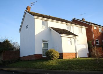 Thumbnail 4 bed detached house for sale in Newell Rise, Claydon, Ipswich, Suffolk