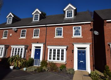 Thumbnail 3 bed end terrace house for sale in Beechrome Drive, Earl Shilton, Leicester