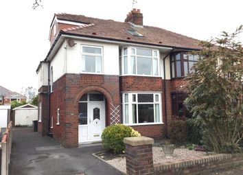 Thumbnail 4 bed semi-detached house for sale in Regent Drive, Fulwood, Preston