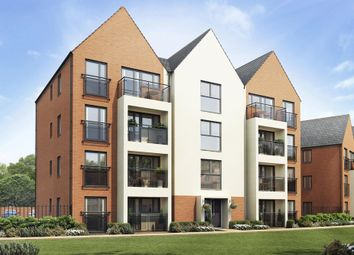 "Thumbnail 3 bed flat for sale in ""Lowesbury"" at Caledonia Road, Off Kiln Farm, Milton Keynes"