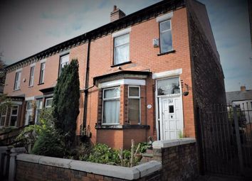 Thumbnail 4 bed end terrace house for sale in Clare Road, Burnage, Manchester