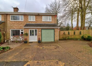 Thumbnail 4 bed semi-detached house for sale in Copes Shroves, Hazlemere, High Wycombe, Buckinghamshire