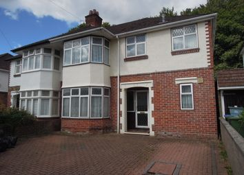 Thumbnail 4 bed semi-detached house for sale in Dale Valley Road, Shirley Southampton