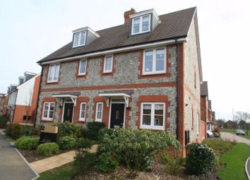 Thumbnail 4 bed semi-detached house to rent in Hornbeam Avenue, Angmering, Littlehampton