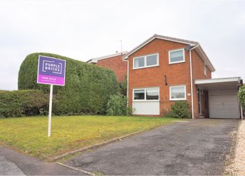 3 bed detached house for sale in Worcester Close, Lichfield WS13