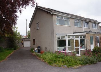 Thumbnail 3 bedroom end terrace house for sale in Upper Bristol Road, Weston-Super-Mare