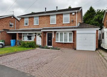 Thumbnail 3 bed semi-detached house for sale in Eagle Close, Cheslyn Hay, Walsall