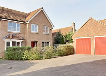 Thumbnail 4 bed detached house to rent in Greenhaze Lane, Great Cambourne, Cambourne, Cambridge