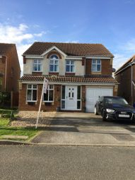Thumbnail 4 bed detached house for sale in Warwick Close, Saxilby