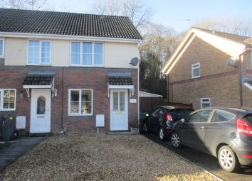 Thumbnail 2 bed end terrace house for sale in Coedriglan Drive, The Drope, Cardiff