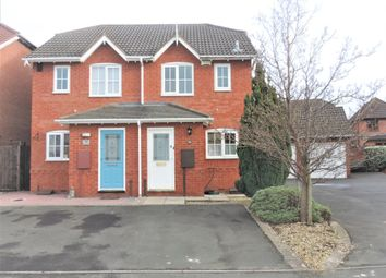 Thumbnail 2 bed semi-detached house for sale in Celandine, Kettlebrook, Tamworth