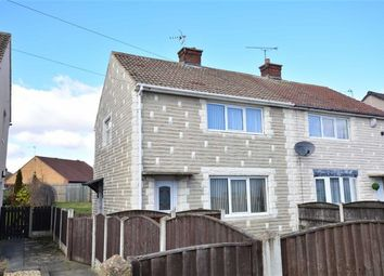 Thumbnail 2 bed semi-detached house for sale in Holmfield Close, Pontefract