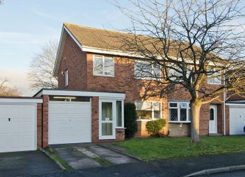 Thumbnail 3 bedroom semi-detached house for sale in Broc Close, Penkridge, Stafford