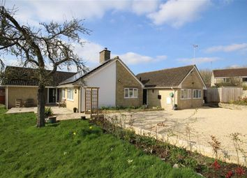 Thumbnail 4 bed detached bungalow for sale in Preston, Cirencester