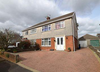 Thumbnail 4 bed semi-detached house for sale in Heol Briwnant, Rhiwbina, Cardiff.
