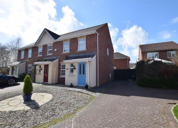 Thumbnail 3 bed end terrace house for sale in Miles Close, Pill, Bristol