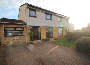 Thumbnail 4 bed semi-detached house for sale in Prestonfield Drive, Kirkcaldy, Fife