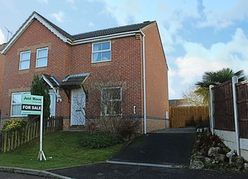 Thumbnail 2 bedroom semi-detached house for sale in Primula Close, Shirebrook, Mansfield