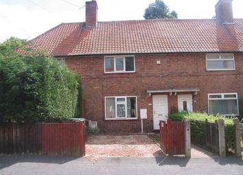 Thumbnail 2 bed terraced house to rent in Austrey Avenue, Lenton Abbey
