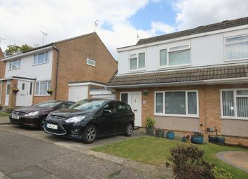 Thumbnail 3 bed semi-detached house for sale in Rosedale Close, Crawley