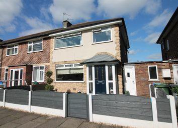 3 bed semi-detached house for sale in Cheriton Road, Urmston, Manchester M41