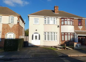 3 bed semi-detached house for sale in Pauline Avenue, Belgrave, Leicester LE4
