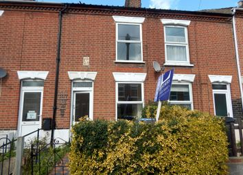 Thumbnail 3 bedroom terraced house to rent in Churchill Road, Norwich