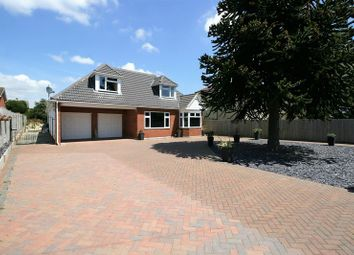 Thumbnail 4 bed detached house for sale in Portchester Road, Fareham