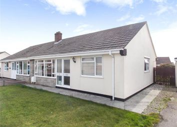 Thumbnail 2 bed semi-detached bungalow for sale in Carlyon Close, Threemilestone, Truro