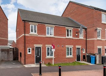 Thumbnail 3 bed town house for sale in Locke Drive, Sheffield